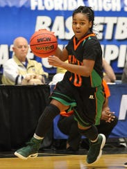 FAMU DRS eighth-grader Erica Turral scored eight points