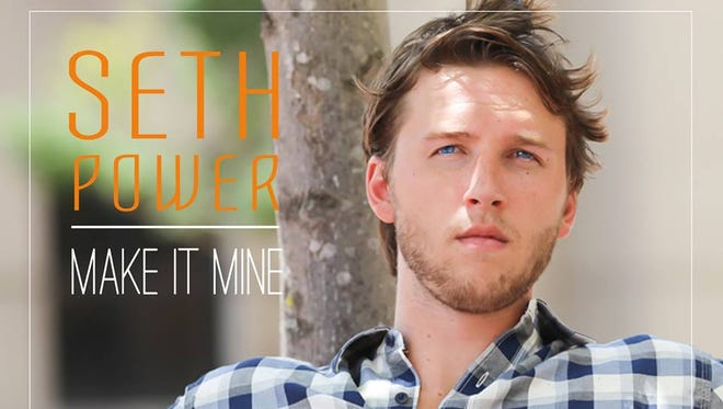 "Seth Power of Brandon is pictured on the cover of his newly released single, ""Make It Mine,"" from  NOW Entertainment."