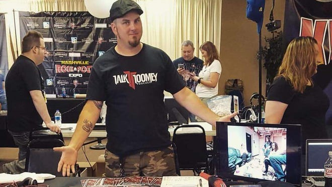 """Musician Joshua Toomey hosts the """"Talk Toomey Podcast,"""" which will be part of the """"Rock N Pod Expo"""" in Nashville."""