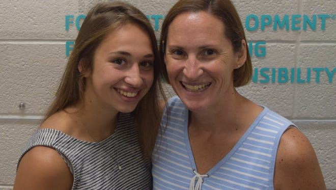 Kate Neumueller and her mother,Becky Neumueller, have been preparing for their first triathlon together. They are signed up for the Woodson YMCA Wausau Triathlon on Aug. 4.