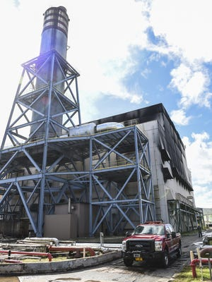 An early morning explosion rocked the Guam Power Authority Cabras Power Plant in Piti on Aug. 31, according to GPA.