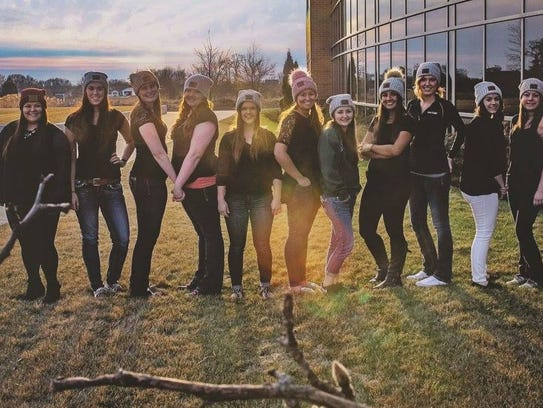 Members from the inaugural Bellin College Campus Crew