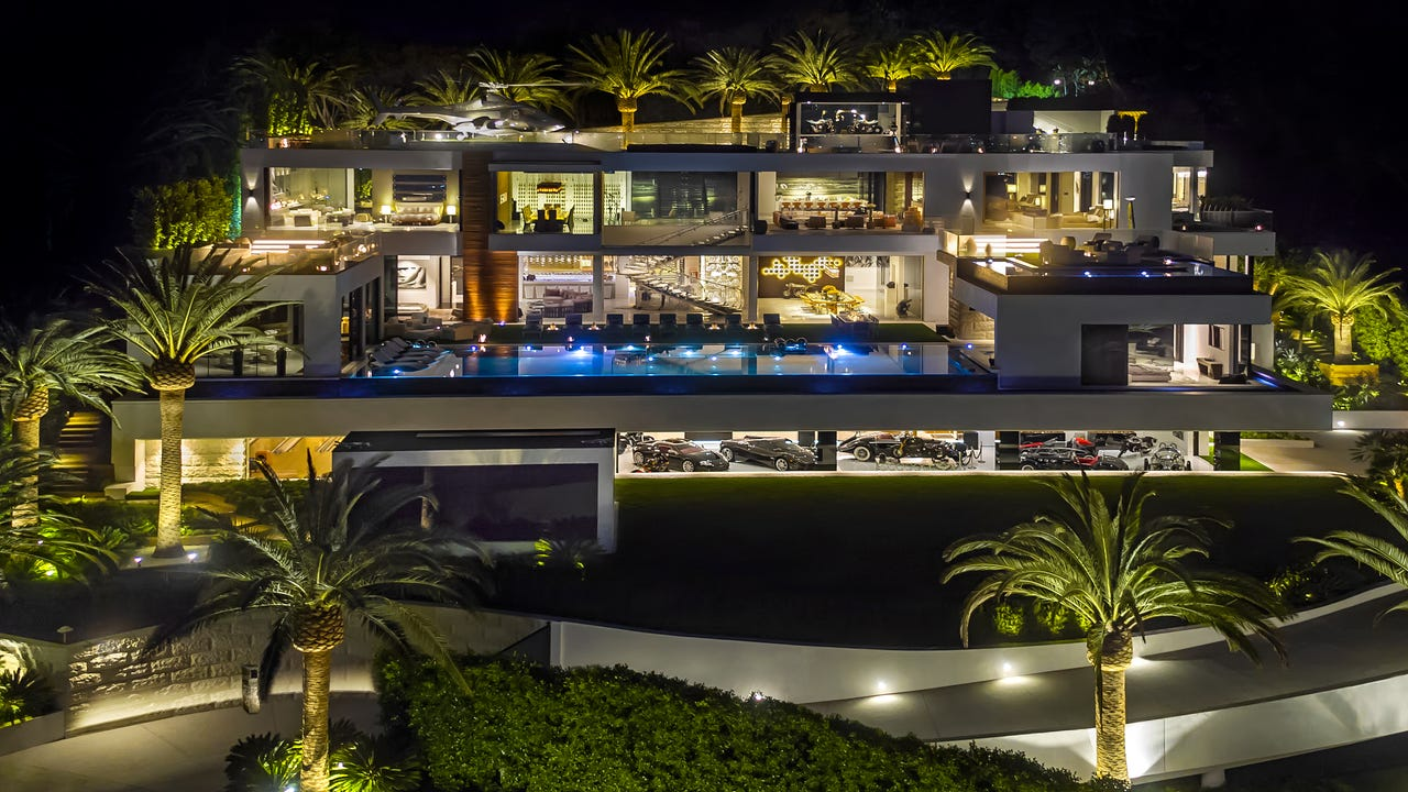 A 38,000 square-foot home in Los Angeles is on the market for $250 million.