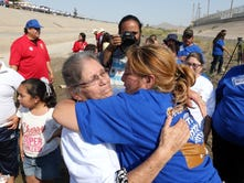 Hugs Not Walls brings border together