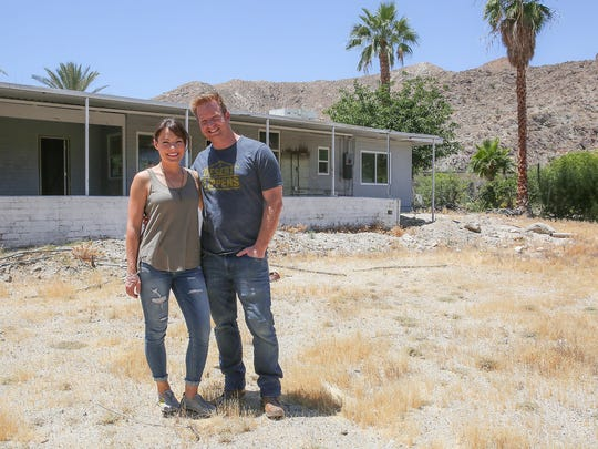 Eric and Lindsey Bennett are stars of the show Desert Flippers.  Currently they are renovating a property in Rancho Mirage.