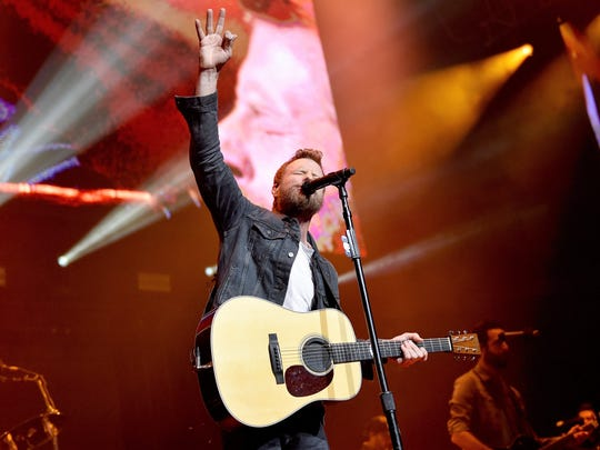 Singer Dierks Bentley will perform at the first outdoor concert at West Point's Michie Stadium, Oct. 18.