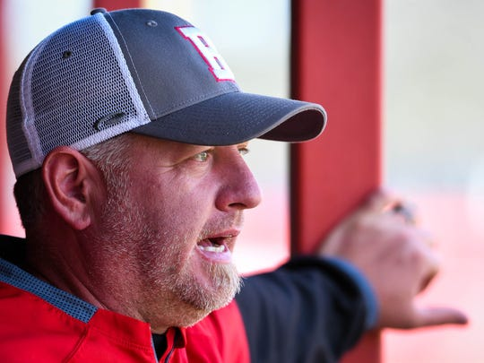 Bosse High School baseball head coach Craig Shoobridge