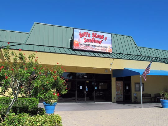 Bill's Steak & Seafood restaurant in East Naples permanently