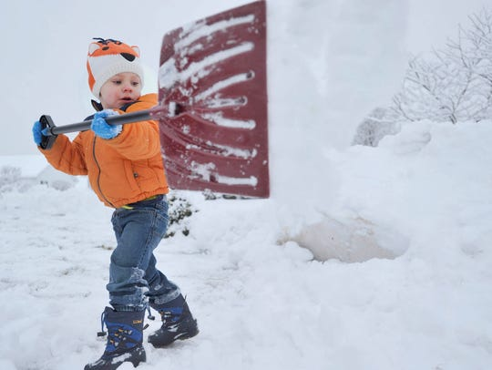 Detroiters might finally need to dig out  their snow shovels if the weather service forecast for this weekend holds up.