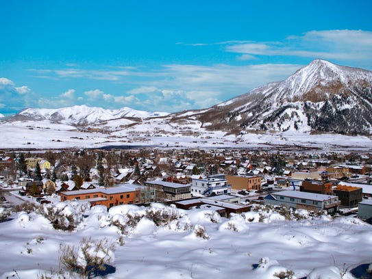 Crested Butte, Colo. is America's best ski town, according