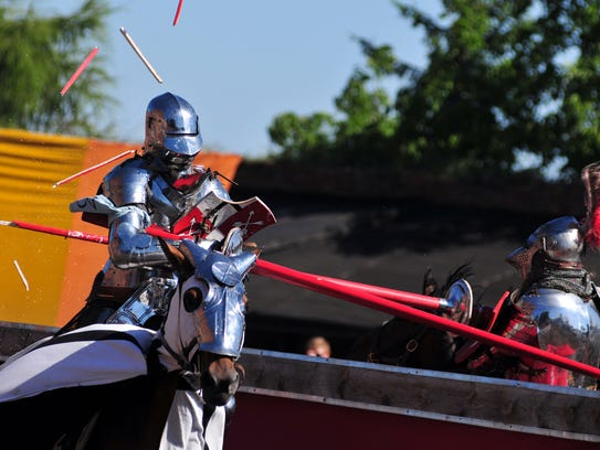 The Tennessee Renaissance Festival continues this weekend