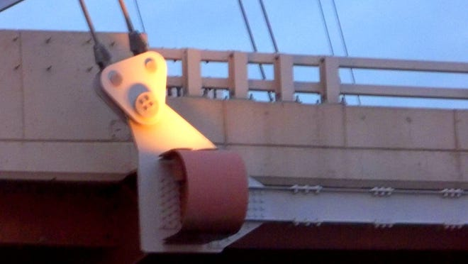 And this little piggy went to the Douglass-Anthony Memorial Bridge.