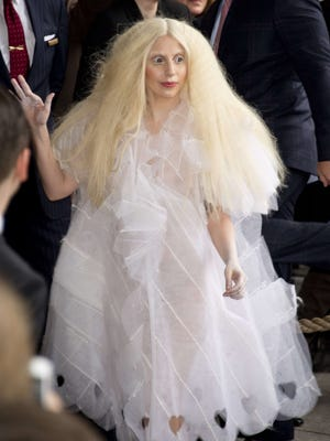 Lady Gaga in Berlin on Oct. 25, 2013.