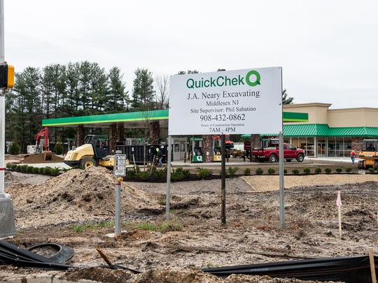 This QuickChek is being built at the intersection of