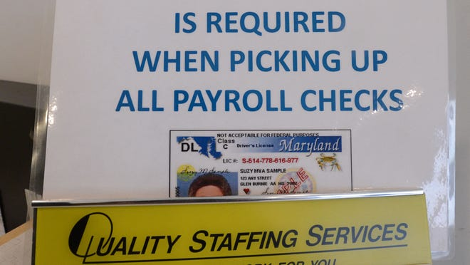 Quality Staffing Services signs in Salisbury