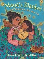 'La manta de Maya — Maya's Blanket' by Monica Brown