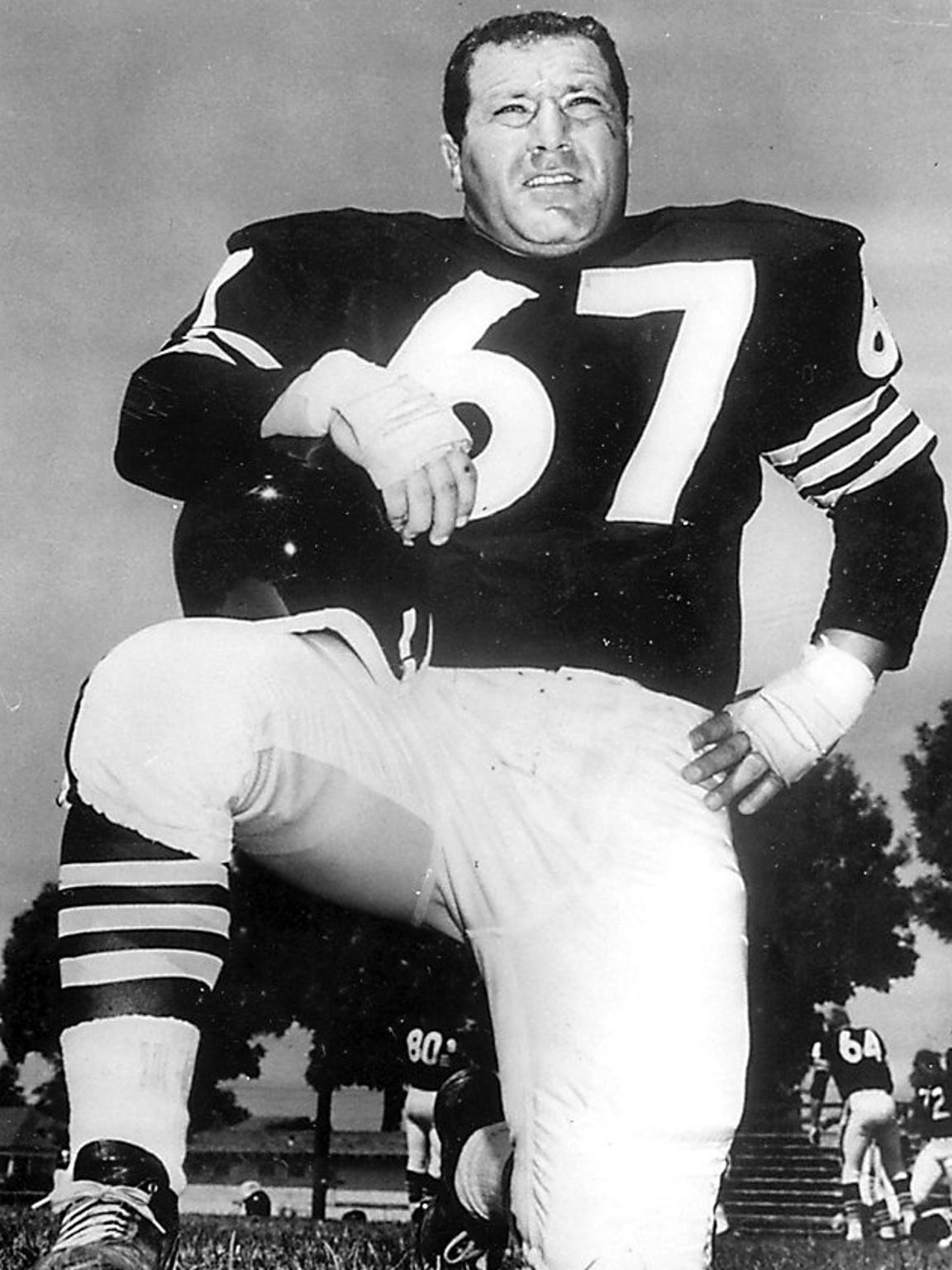 Don Manoukian was an All-American football player at