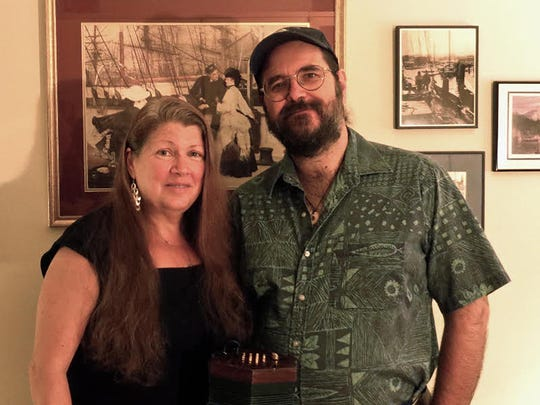 Chris Koldewey and Joy Bennett perform Sunday on the
