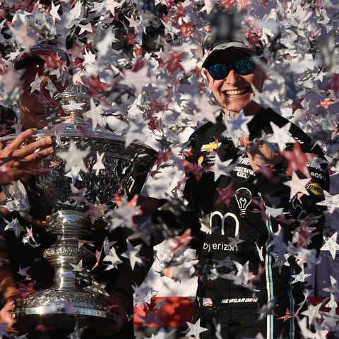 IndyCar Series driver Josef Newgarden (2)...
