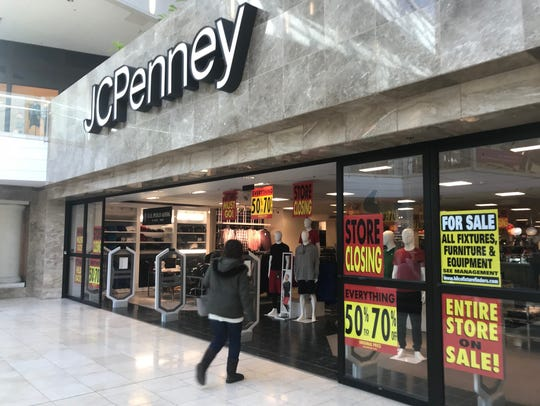 The J.C. Penney store at the Westfield Garden State