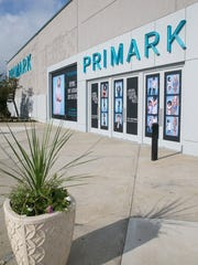 Primark, a European retailer, has opened on the top floor of the Sears department store at Freehold Raceway Mall in Freehold Township.