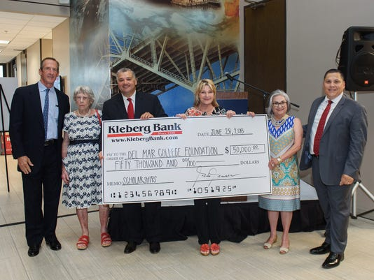 Kleberg Bank Donation