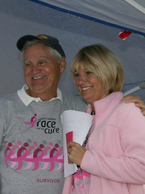 Paul Ott Carruth and daughter Carla Carruth Tigner are breast cancer survivors.