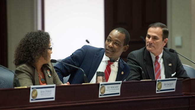 Rep. Al Jacquet at a House Ways and Means committee meeting in January 2019.