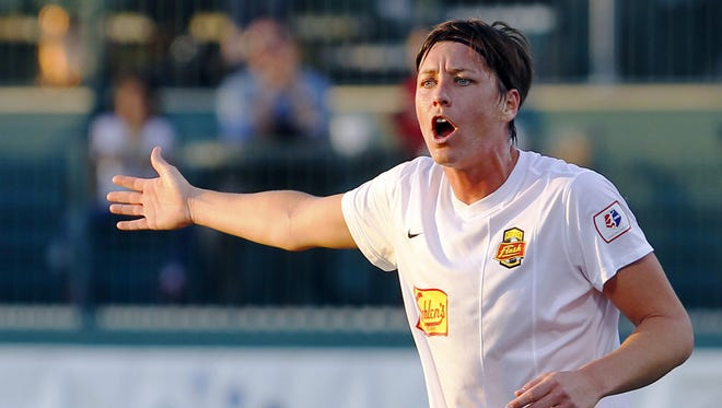 Abby Wambach, who announced on Tuesday she's retiring, played for her hometown Western New York Flash team in 2013 and 2014.