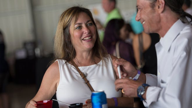 The Taste of Martin County, a signature fundraising event for Big Brothers Big Sisters of Palm Beach and Martin Counties, took place Oct. 10, 2017, at the Stuart Jet Center.