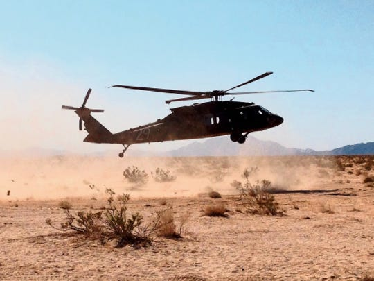 A former civilian employee at Fort Bliss was convicted of fraud after signing off on an Army Blackhawk Helicopter safety inspection that never took place.