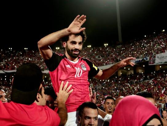 Mohamed Salah, Egypt.