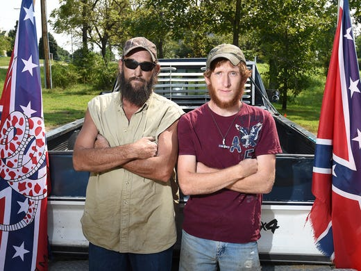 Self Avowed Rednecks Father And Son Henry Rowden