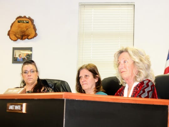 County Commissioners discuss the Otero County Fairgrounds' needs at their Jan. 12 regular commission meeting.
