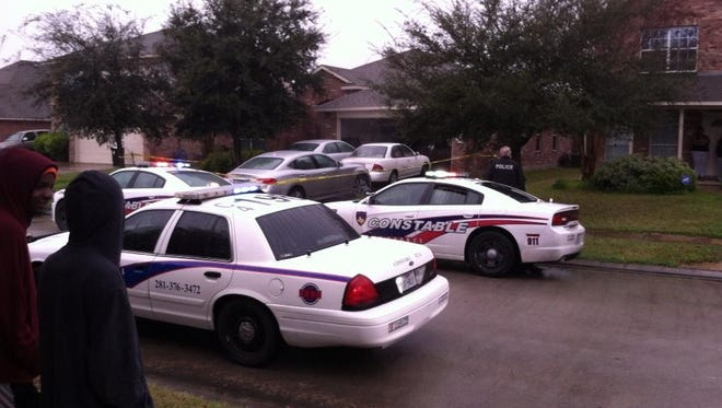 Deputies are on the scene of a shooting involving a 4-year-old at a home on Imperial Stone drive.