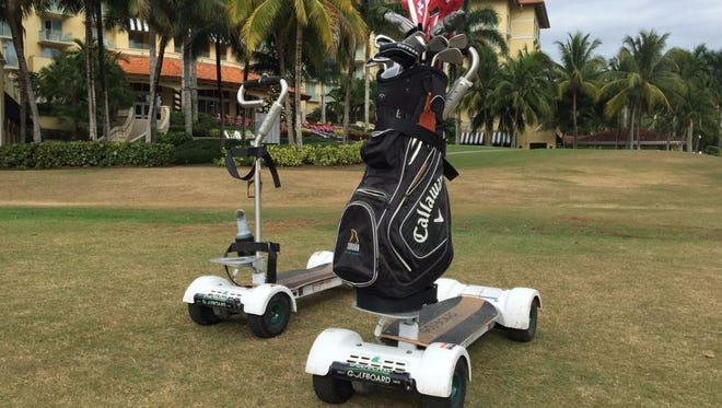 Tiburón Golf Club at the Ritz-Carlton Golf Resort has become the second club in Naples to add GolfBoard.