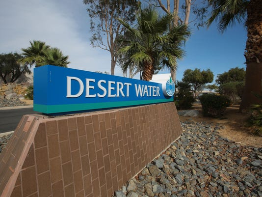 Desert Water Agency sign