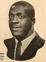 Jerry Rush was dominant on both sides of the ball for the Spartans from 1962-64. Michigan State running backs followed Jerry Rush and Co. into the end zone 40 times in three seasons, amassing more than 5,600 yards in the process.In 1962, Rush and the MSU defense held opponents to eight points or less six times in nine games.