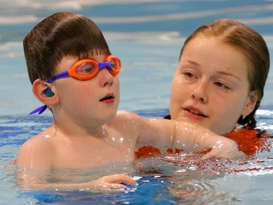 MP Carter Sobush swim lessons