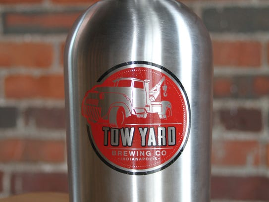Growler fills are $5 on Mondays at Tow Yard Brewing.