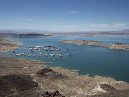 Las Vegas Boat Harbor & Lake Mead Marina, June 19,