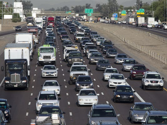 Interstate 10 traffic