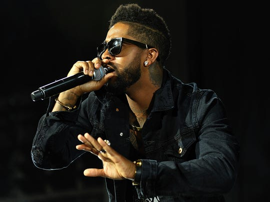 Omarion opens for Chris Brown on Sunday at DTE Energy Music Theatre.
