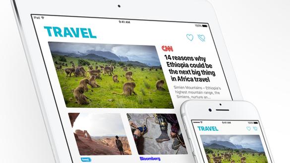 Apple News on iPad and iPhone