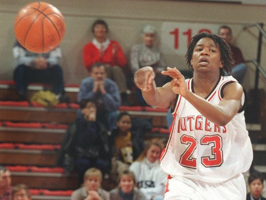 Former Red Bank standout Tomora Young, shown playing