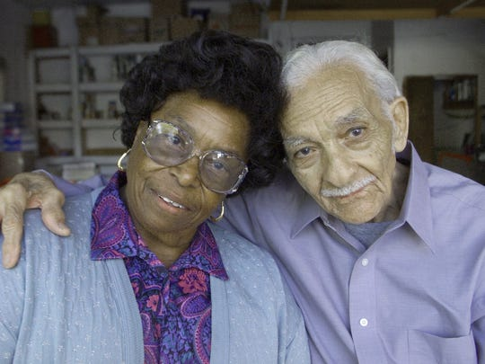 A photo of Leon and Evelyn Mount. Over the years, the couple have helped feed thousands of families in the Reno Sparks area.