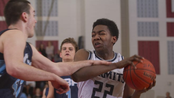 A meeting is set for 6 p.m. between St. Augustine Prep officials and the Mutts family regarding the possible transfer of junior standout Justyn Mutts.