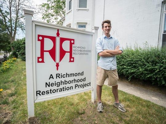 Eric Nicholson, executive director of Richmond Neighborhood