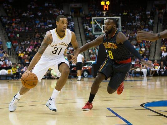 NBA: Preseason-Atlanta Hawks at New Orleans Pelicans