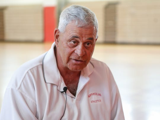 North Rockland athletic director Joe Casarella photographed in the gymnasium of North Rockland High School on July 19, 2016.